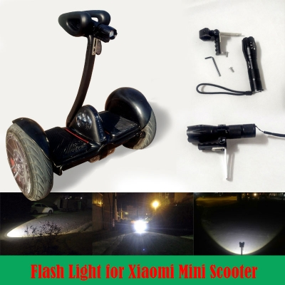 front flash light for Xiaomi Ninebot Nine Mini and Minipro hoverboard two wheel electrical balance scooter