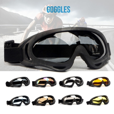 Wholesale X400 goggles anti-wind Tactical glasses Cross-country eyewear Ski spectacles Polarized