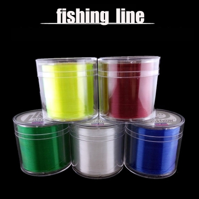 Nano technology innovation 500 meters high tension line resistance fishing halleluyah fishing line fishing 5 colors optional