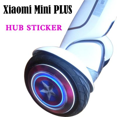 hub sticker for Xiaomi Ninebot 9 plus scooter wheel sticker for Xiaomi electric balance scooter two wheel stickers
