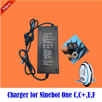 battery charger for Ninebot One C, C+,E,E+ solo wheel scooter Ninebot one hoverboard repair accessaries free shipping